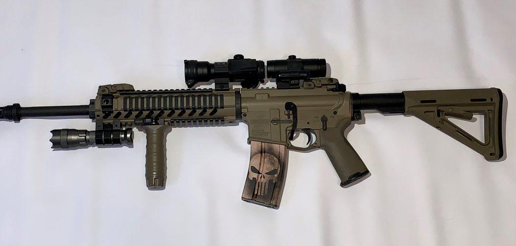 AR-15 Flat Dark Earth
