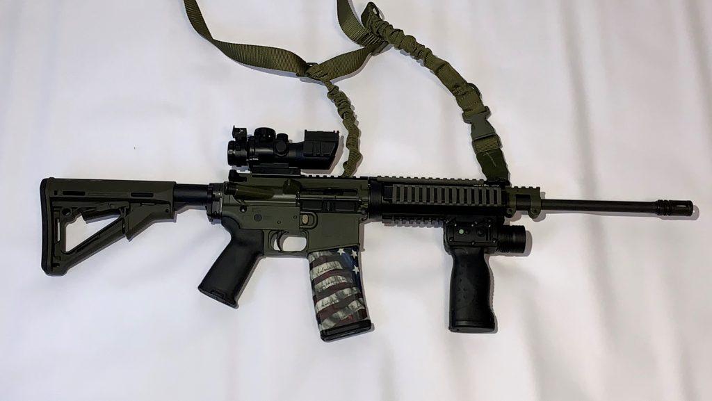 AR-15 OD Green