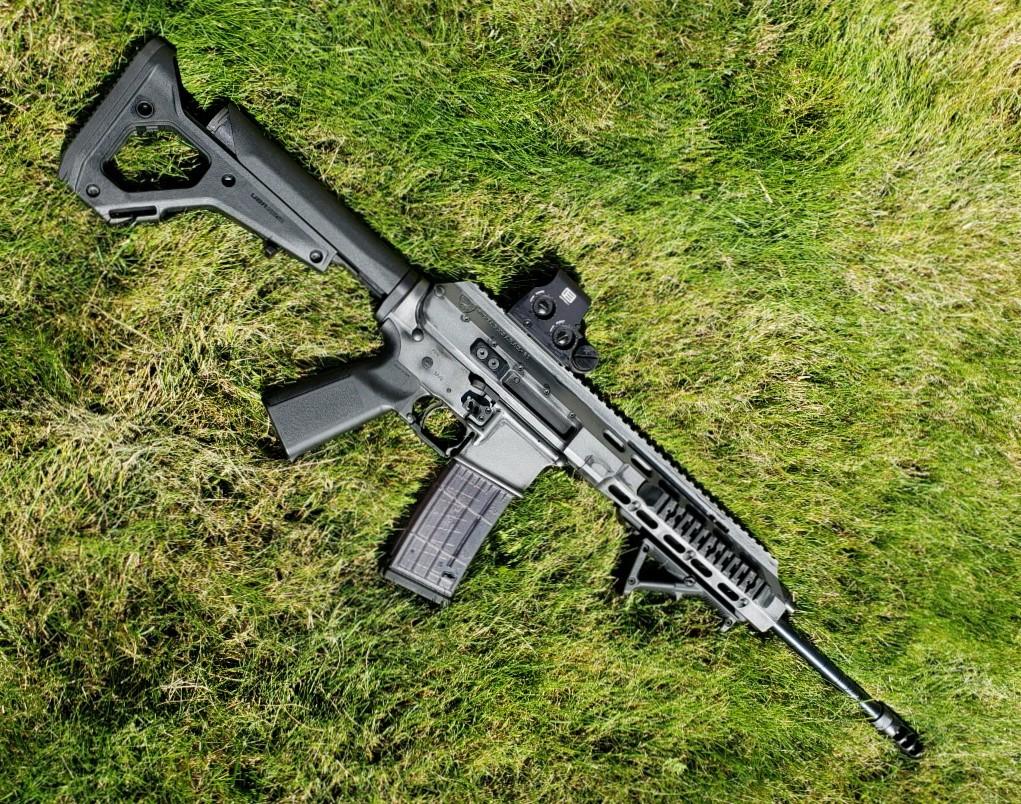 AR-15 Piston Operated Build Battle Field Look