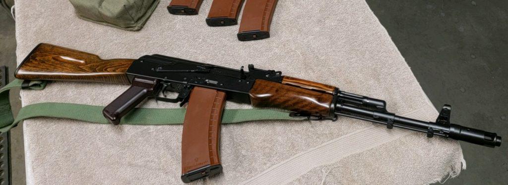Bulgarian AK-74 f