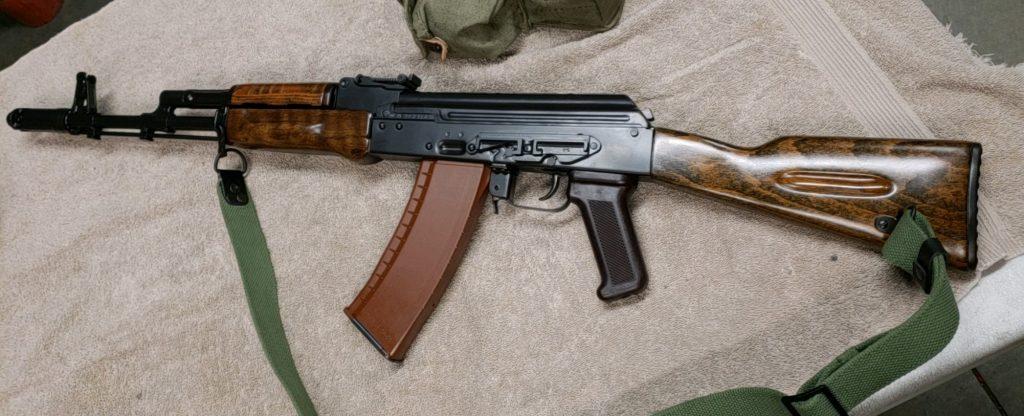 Bulgarian AK-74 g