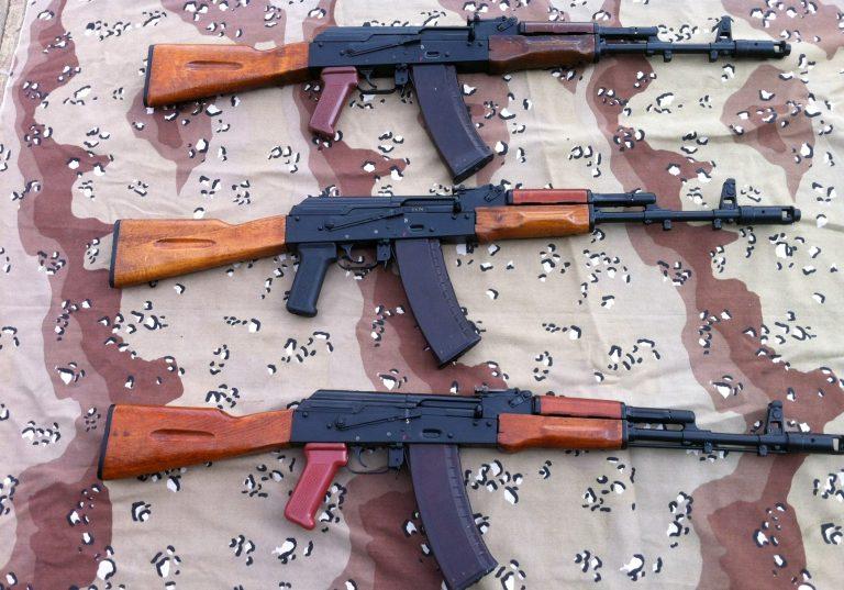 Bulgarian AK74's