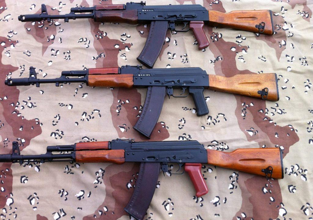 Bulgarian AK74's B