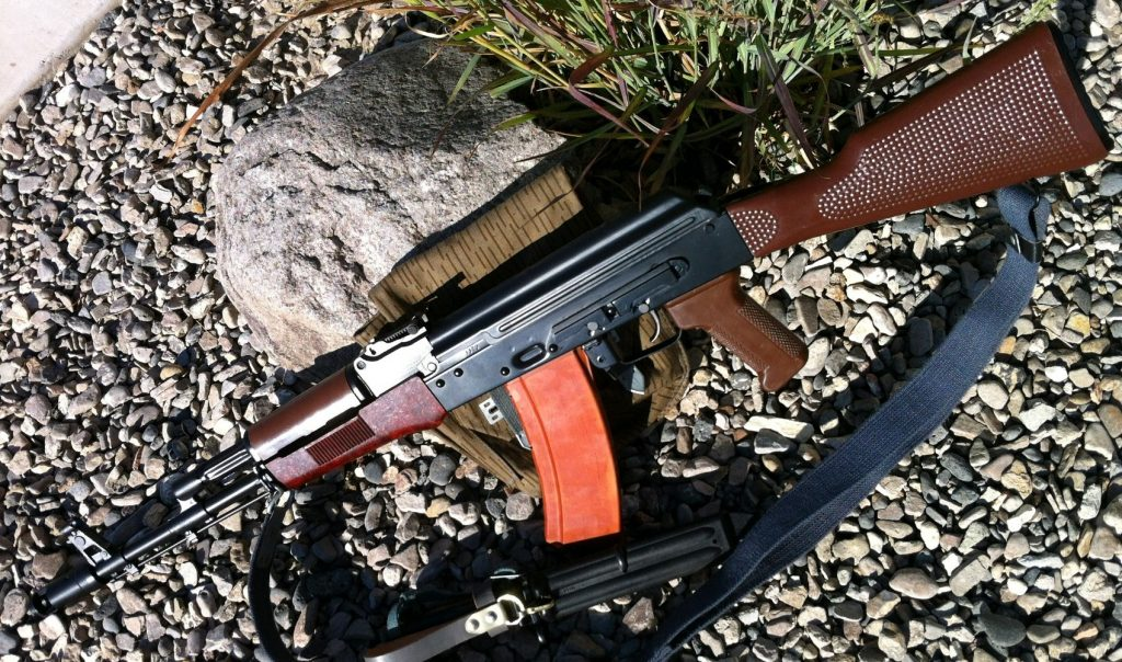 East German AK74 B