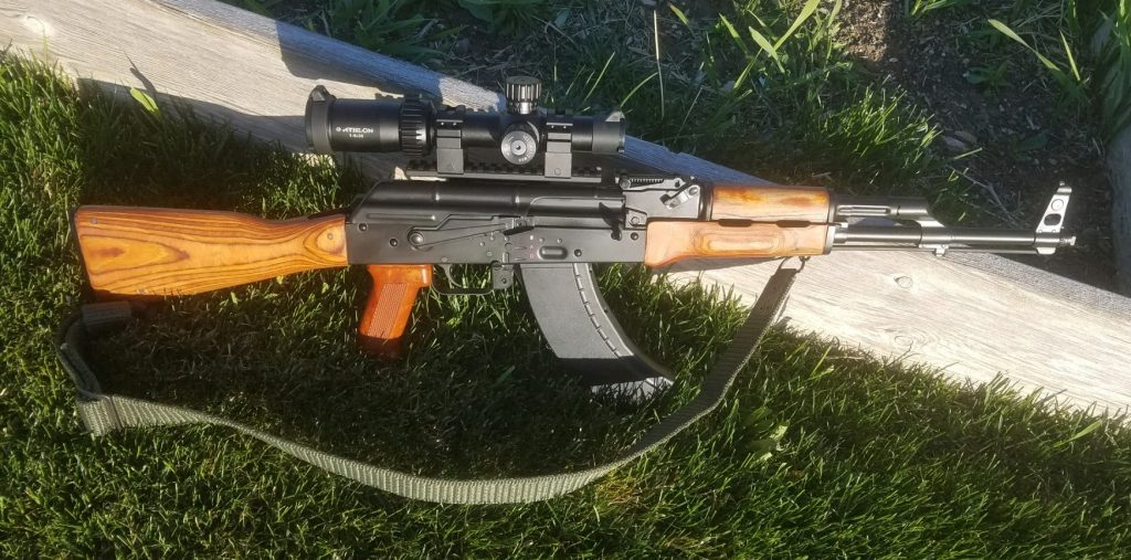 Romanian Custim AKM b